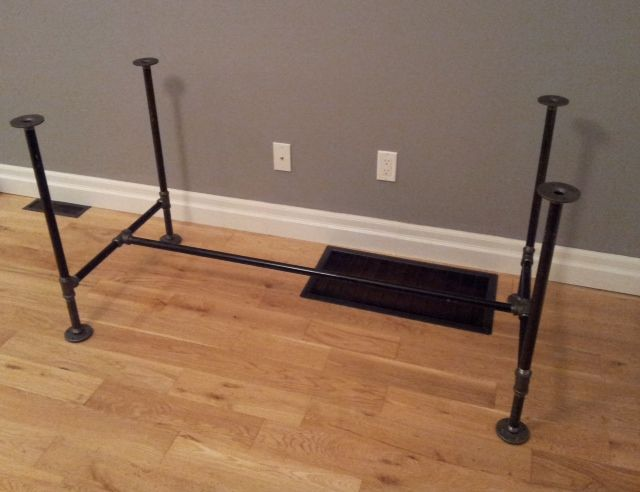 Captivating DIY Pipe And Wood Table Pt 1