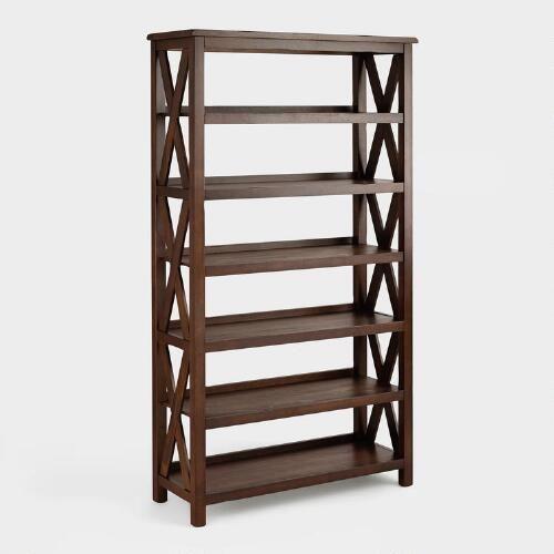 Complete Your Italian Countryside Decorating Scheme With Our Verona Six Shelf Bookshelf Adorned With The Iconic Bucherregal Aus Holz Regal Bucherregal Ideen