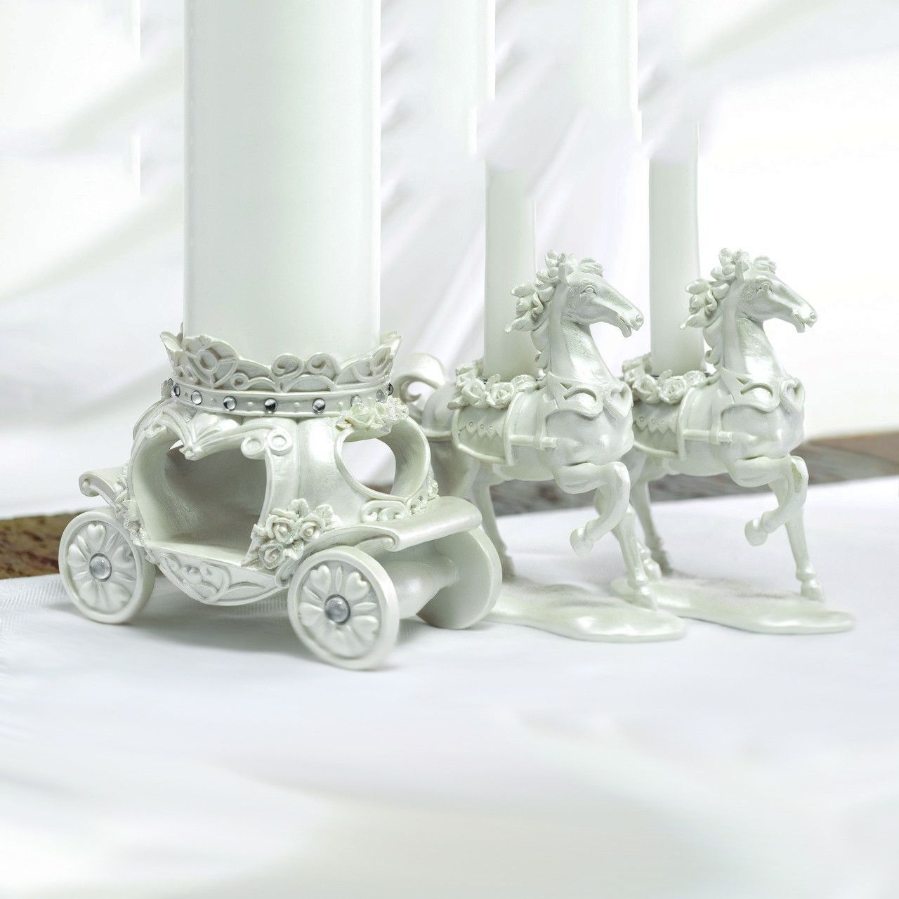 Once Upon A Time Fairy Tale Wedding Candle Stand Set | Candle stand ...