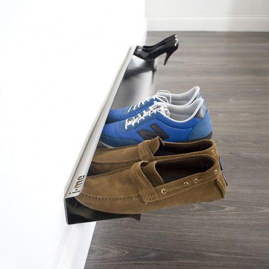 Wall Shoe Rack Rail Range Chaussures Mural Etagere A Chaussures Murale Rangement Chaussures Rangement A Chaussures