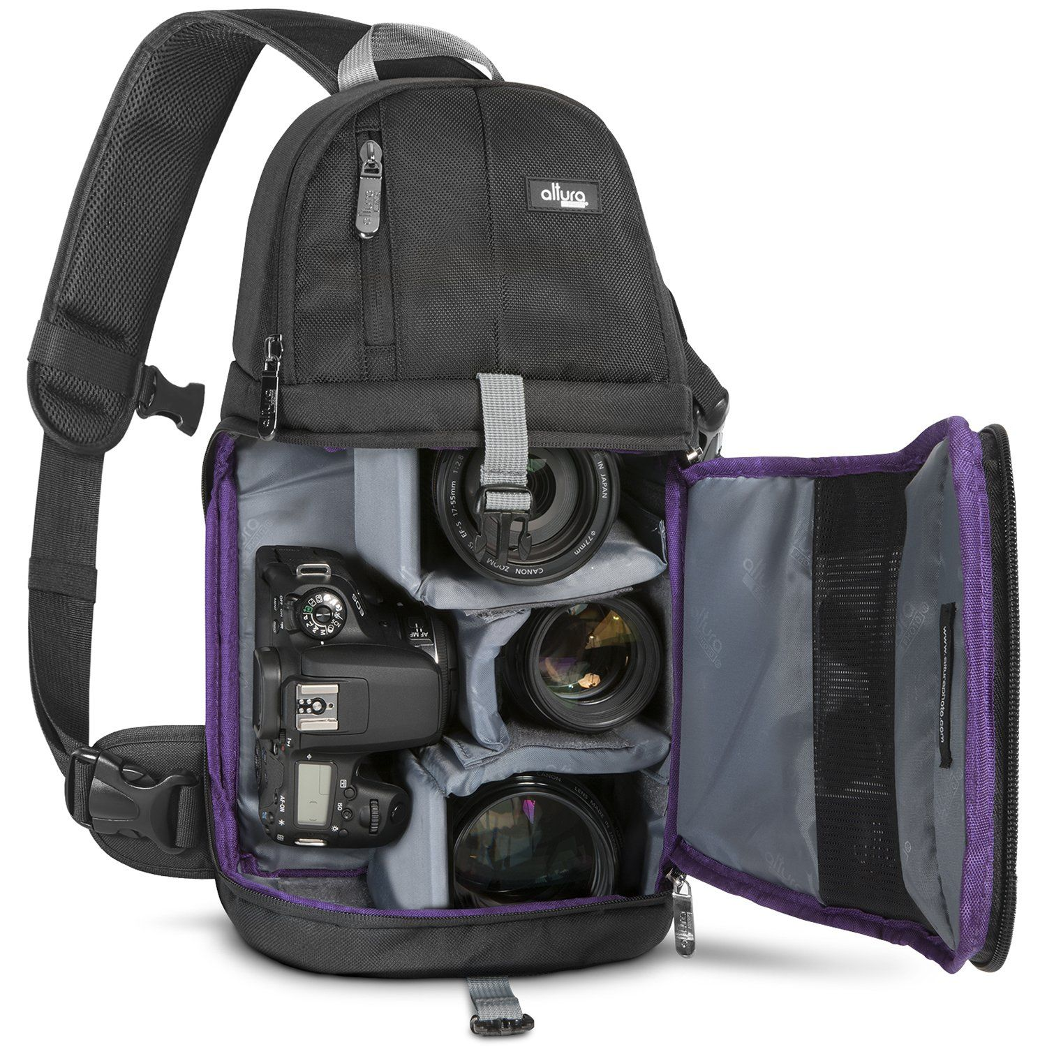 Altura photo camera sling backpack for dslr and mirrorless