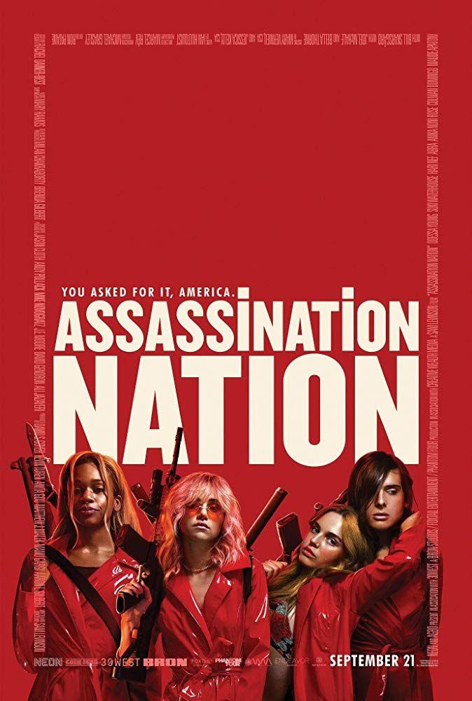 Assassination Nation Com Imagens Cartazes De Cinema Super Hq