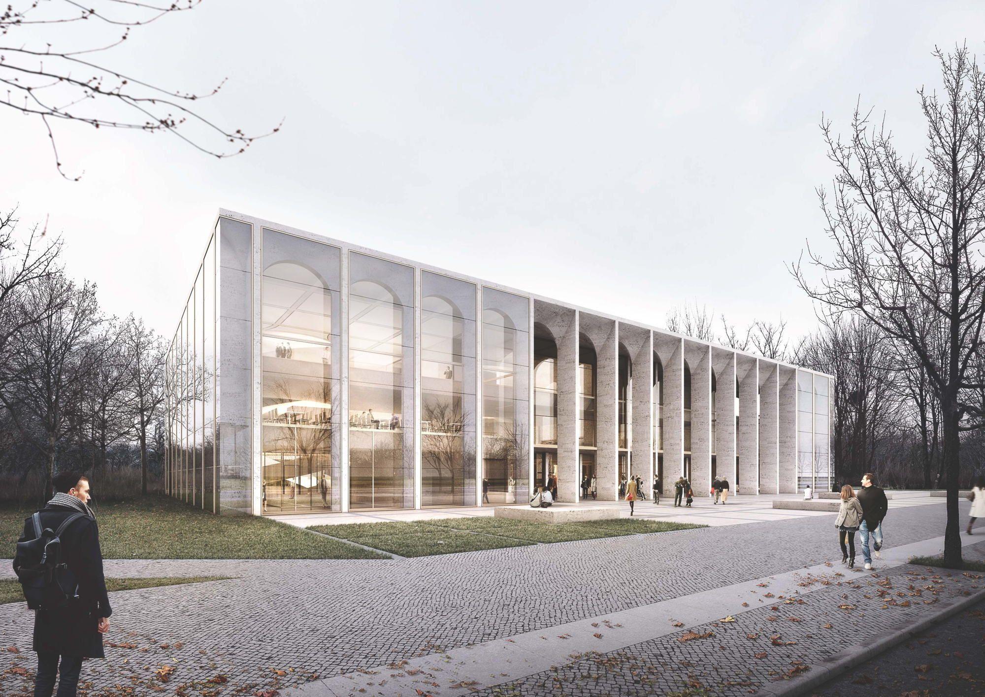 Besucherzentrum des bundestags in berlin ausstellung und alle arbeiten der 2 phase - Architekturvisualisierung berlin ...