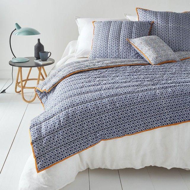 Couvre lit voile de coton matelassé AMONE | Idées pour la maison