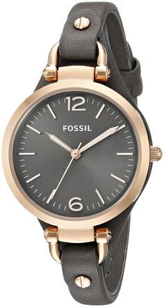http://Amazon.com: Fossil Women's ES3077 Georgia Rose Gold-Tone Stainless Steel Watch: Fossil: Watches