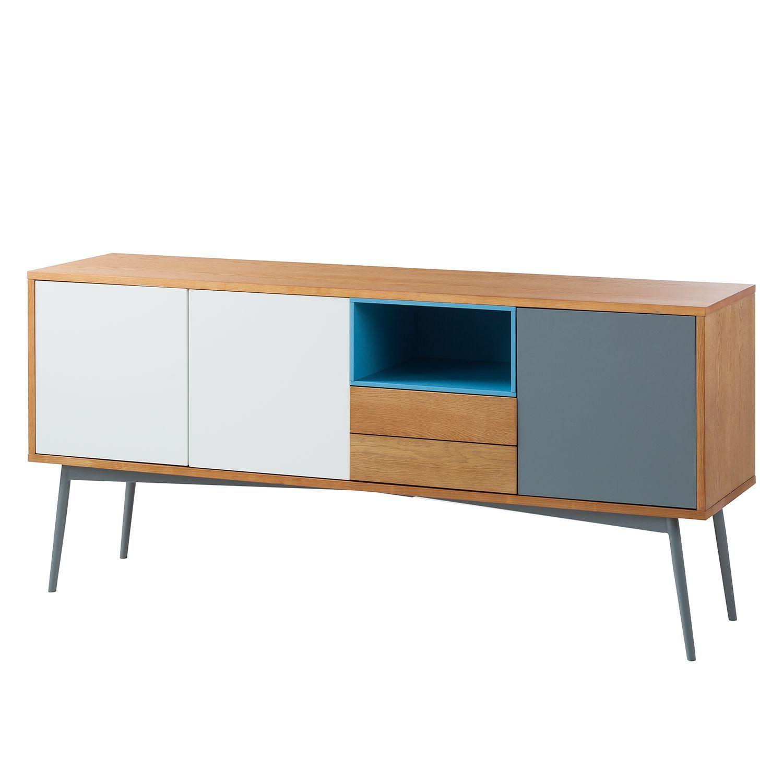 sideboard eno iii eiche wei morteens jetzt bestellen. Black Bedroom Furniture Sets. Home Design Ideas