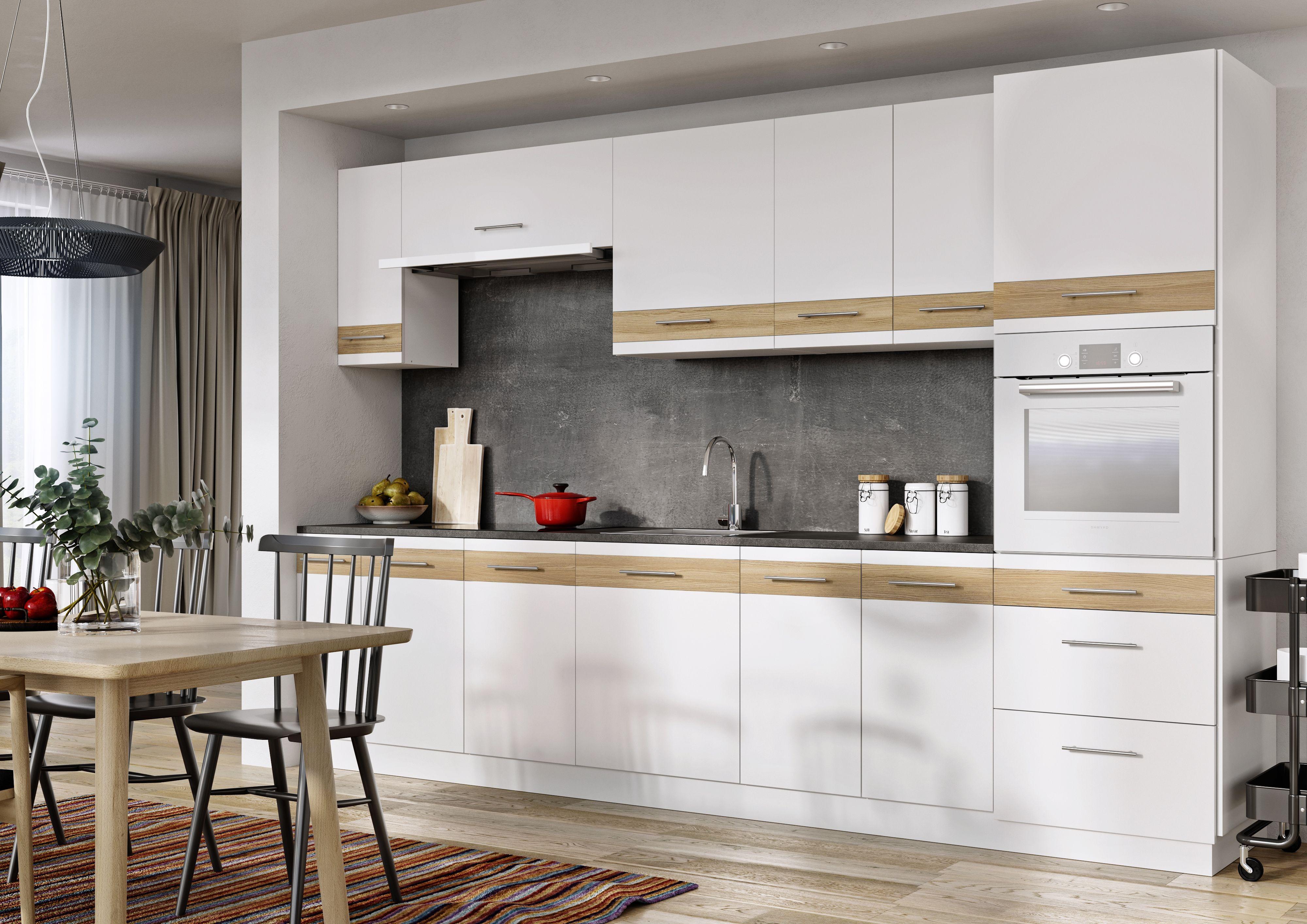 Lupus Luna Lignum Bianco White Wood Kitchens Bright Kitchens Kitchen Furniture