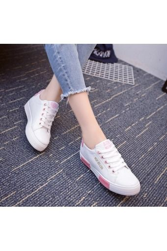 2016 Woman New White Shoes Flat Casual Shoes Women Lace up Shoes | Price: ฿902.00 | Brand: Unbranded/Generic | From: Top Seller Shoes - รวมรองเท้าแฟชั่น รองเท้าผู้ชาย รองเท้าผู้หญิง ราคาพิเศษ | See info: http://www.topsellershoes.com/product/65536/2016-woman-new-white-shoes-flat-casual-shoes-women-lace-up-shoes