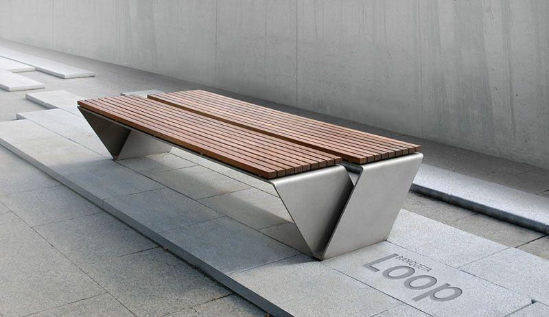 Loop Urban Bench Com Imagens Ideias Para Mobilia Projetos