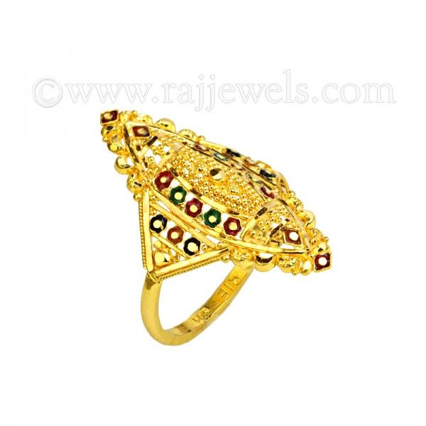 Brishma Gold Ring
