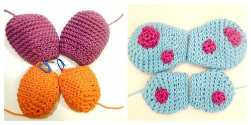 Large and Small Wings for your Amigurumi Free Crochet Pattern ...
