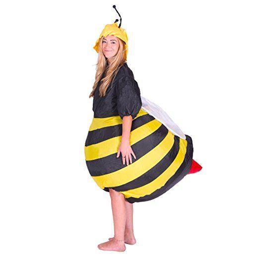Witziges Kostum Biene Fur Frauen Fasching Halloween Verkleiden