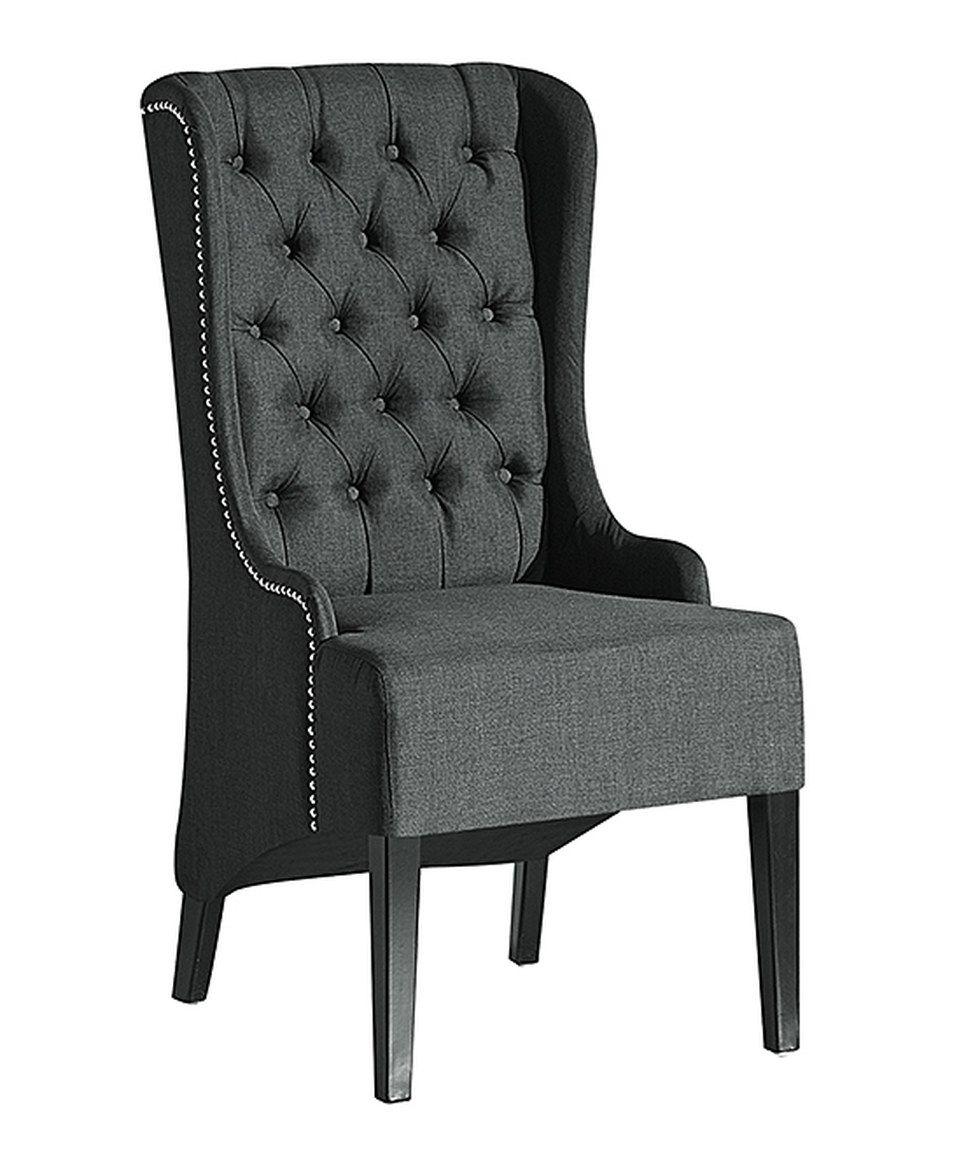 Excellent Gray Vincent Chair By Baxton Studio Zulily Zulilyfinds Creativecarmelina Interior Chair Design Creativecarmelinacom