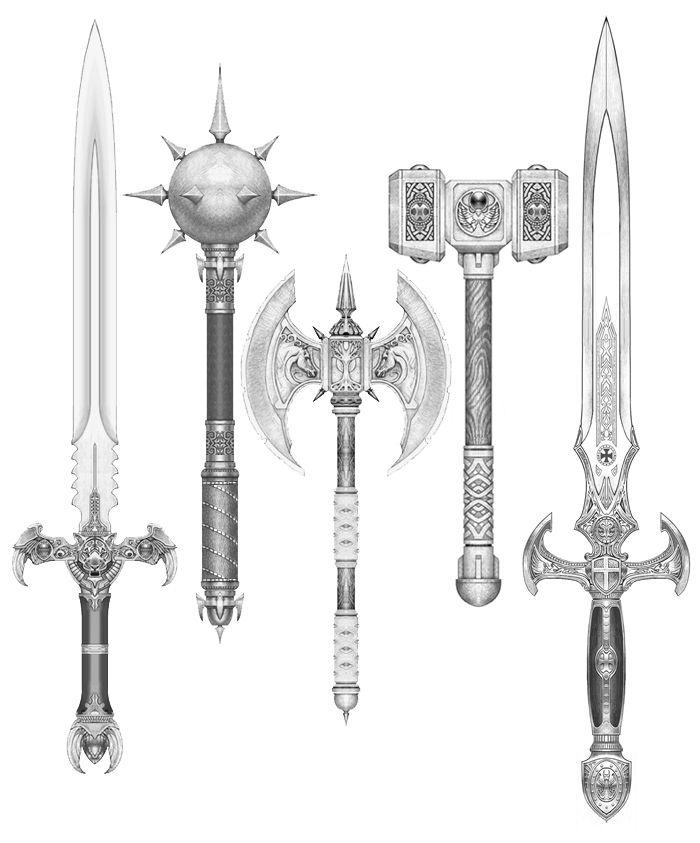 fantasy weapon designs - Google Search   nightmare battle ...