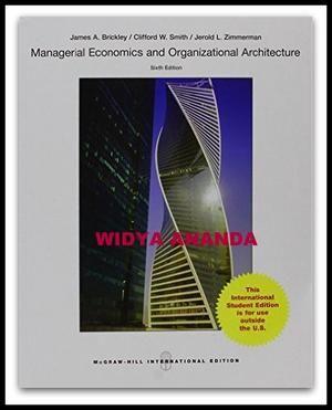 Managerial economics organizational architecture 6th edition managerial economics organizational architecture 6th edition fandeluxe Image collections