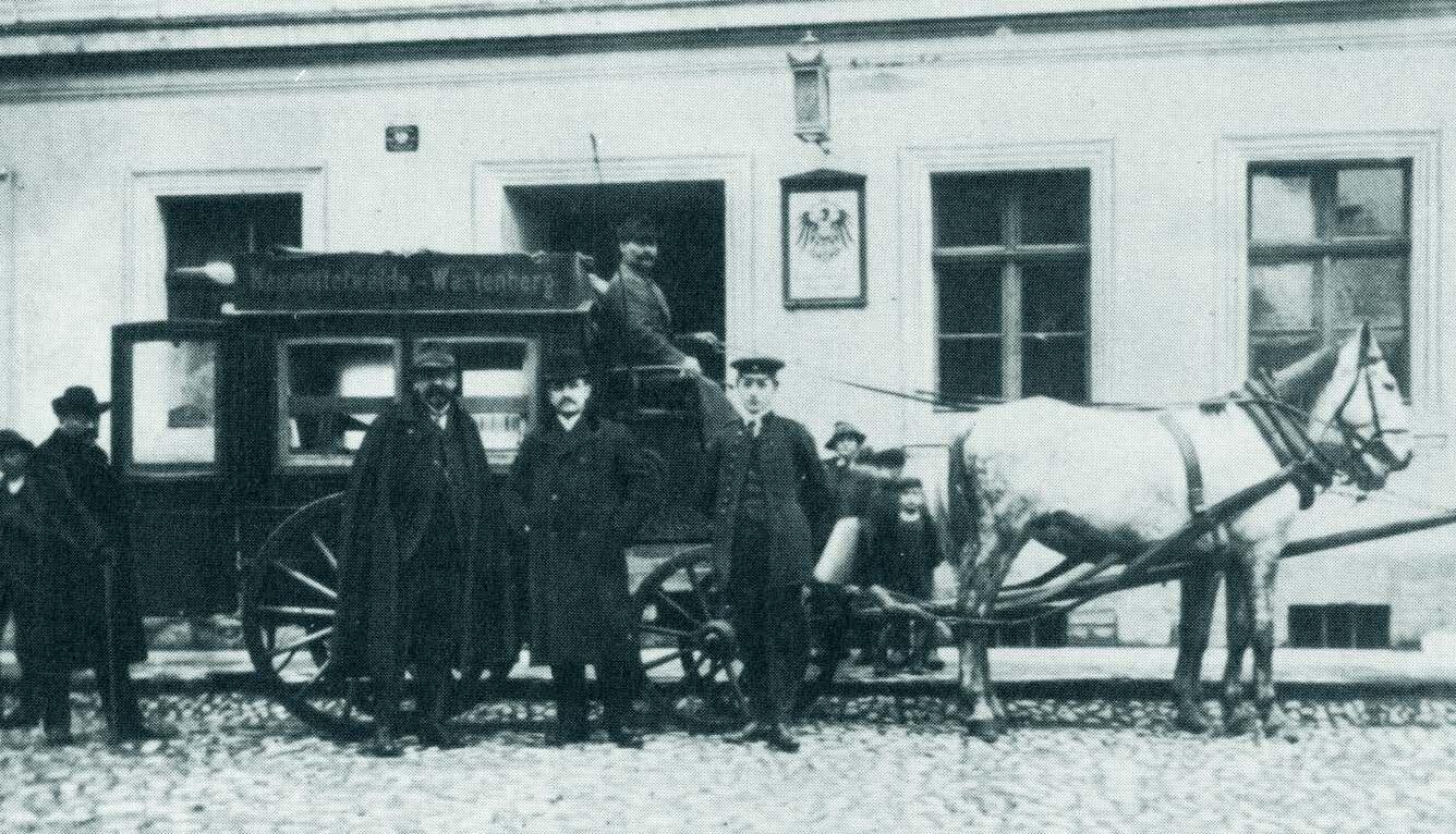 Ehem. Firmensitz in der heutigen Richard-Müller-Straße in Breisach ...