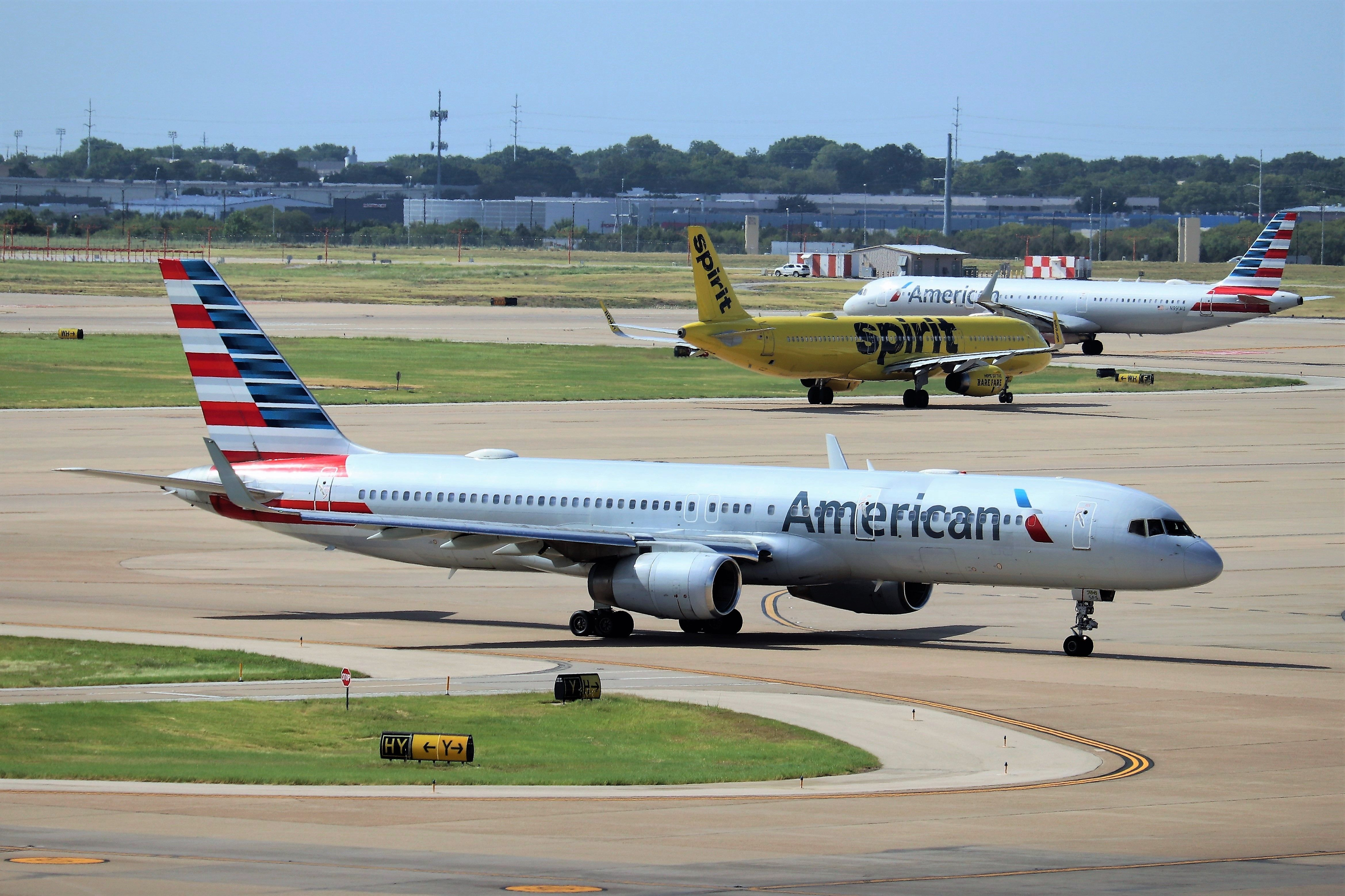 American Airlines 757 in 2020 American airlines