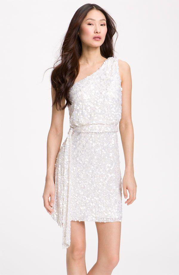The Little White Dress: Short and Sweet Dresses For The Bride | Kleider