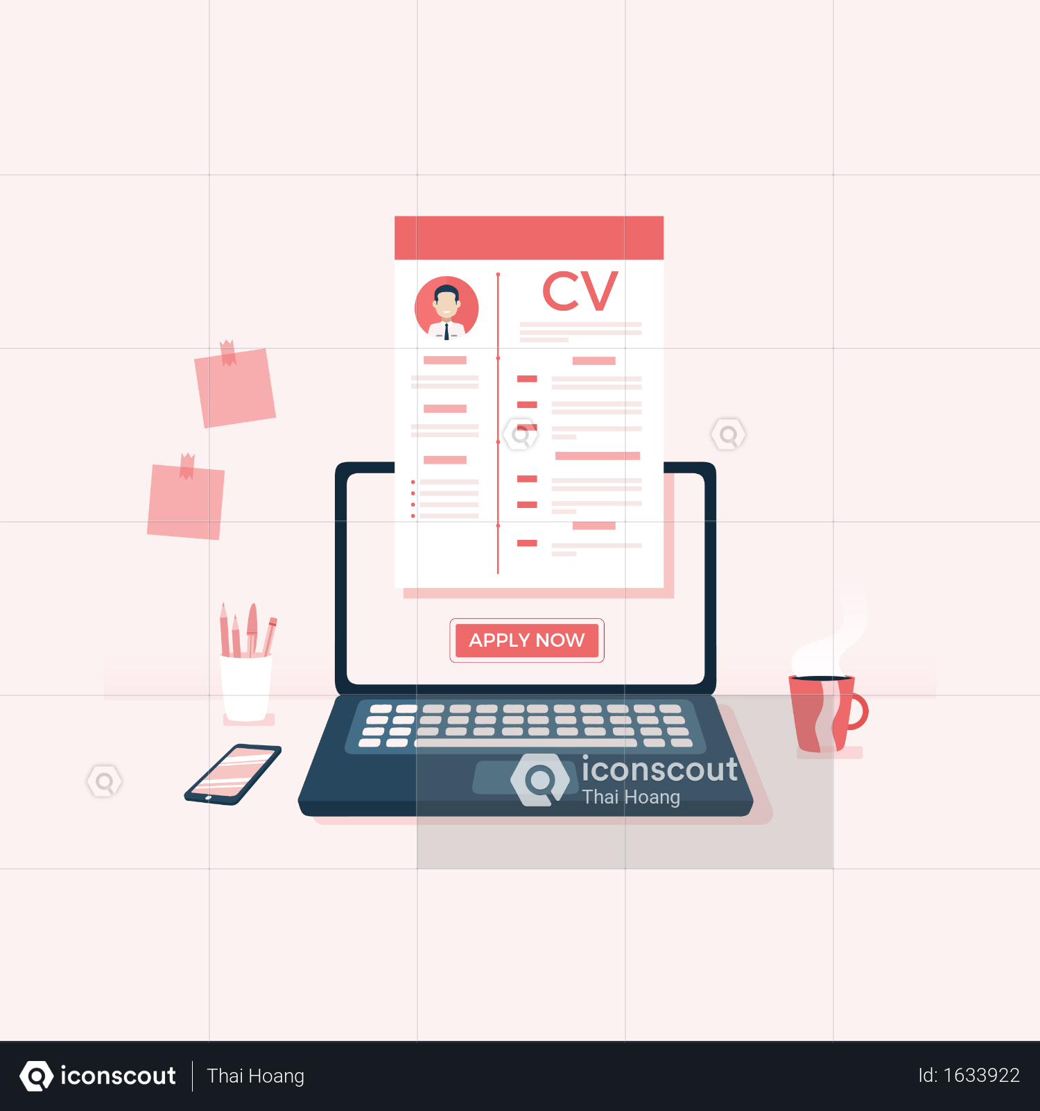 Premium Online Job Application Illustration Download In Png Vector Format Online Job Applications Job Application Online Jobs