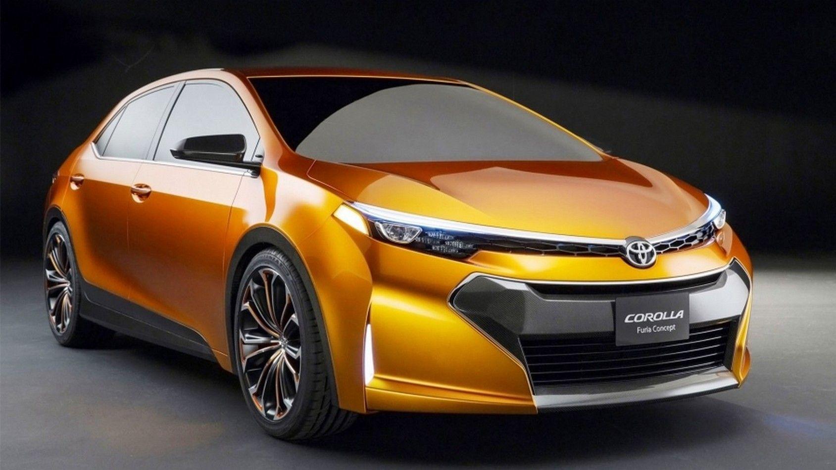 2020 Toyota Corolla Furia Concept Car Toyota Corolla Mobil Toyota