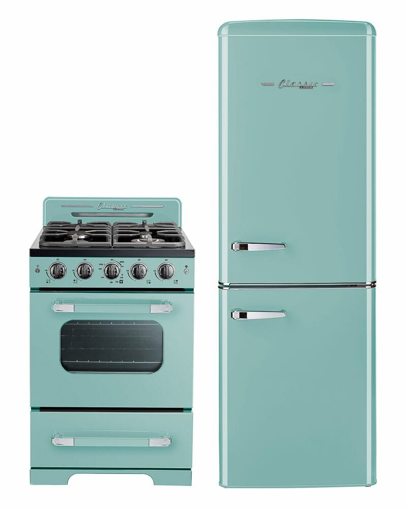 Retro Stoves In Turquoise Mint Green White And Black With A 30 Range Coming In 2021 Retro Renovation Retro Stove Retro Kitchen Appliances Retro Kitchen