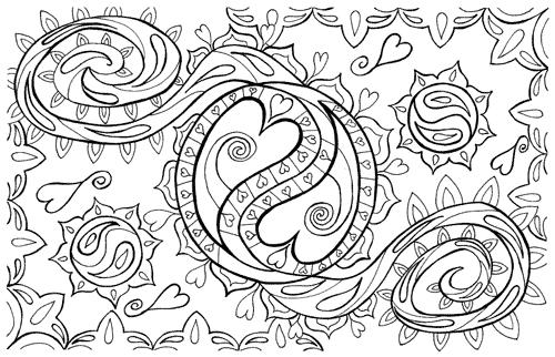 Kathy Rose Art Mandalas doodle Pinterest Mandalas