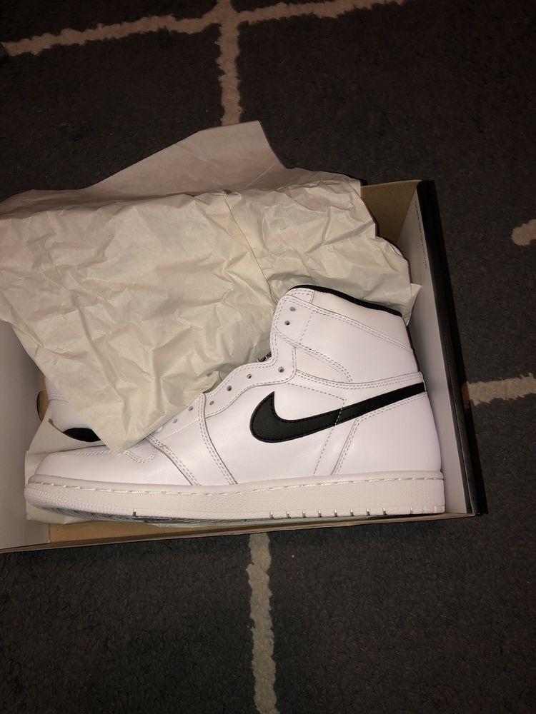72c3001a9471d Air Jordan 1 Retro High OG White/Black 11.5 #fashion #clothing ...
