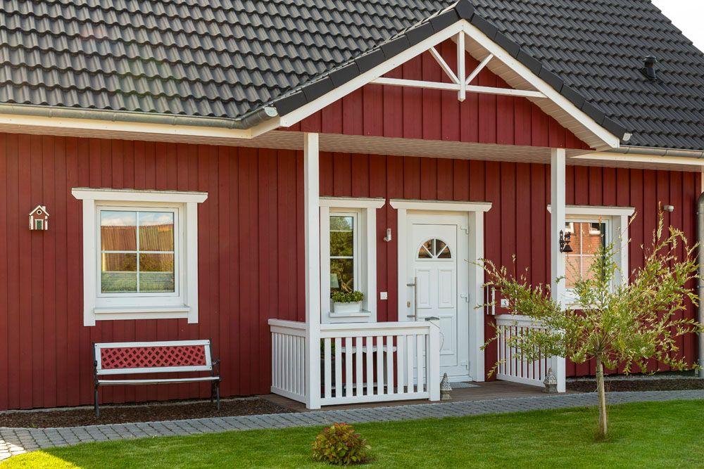 Hausdetails Wohnen Und Hobby Contract Vario Haus Schwedenhaus Hausfassade