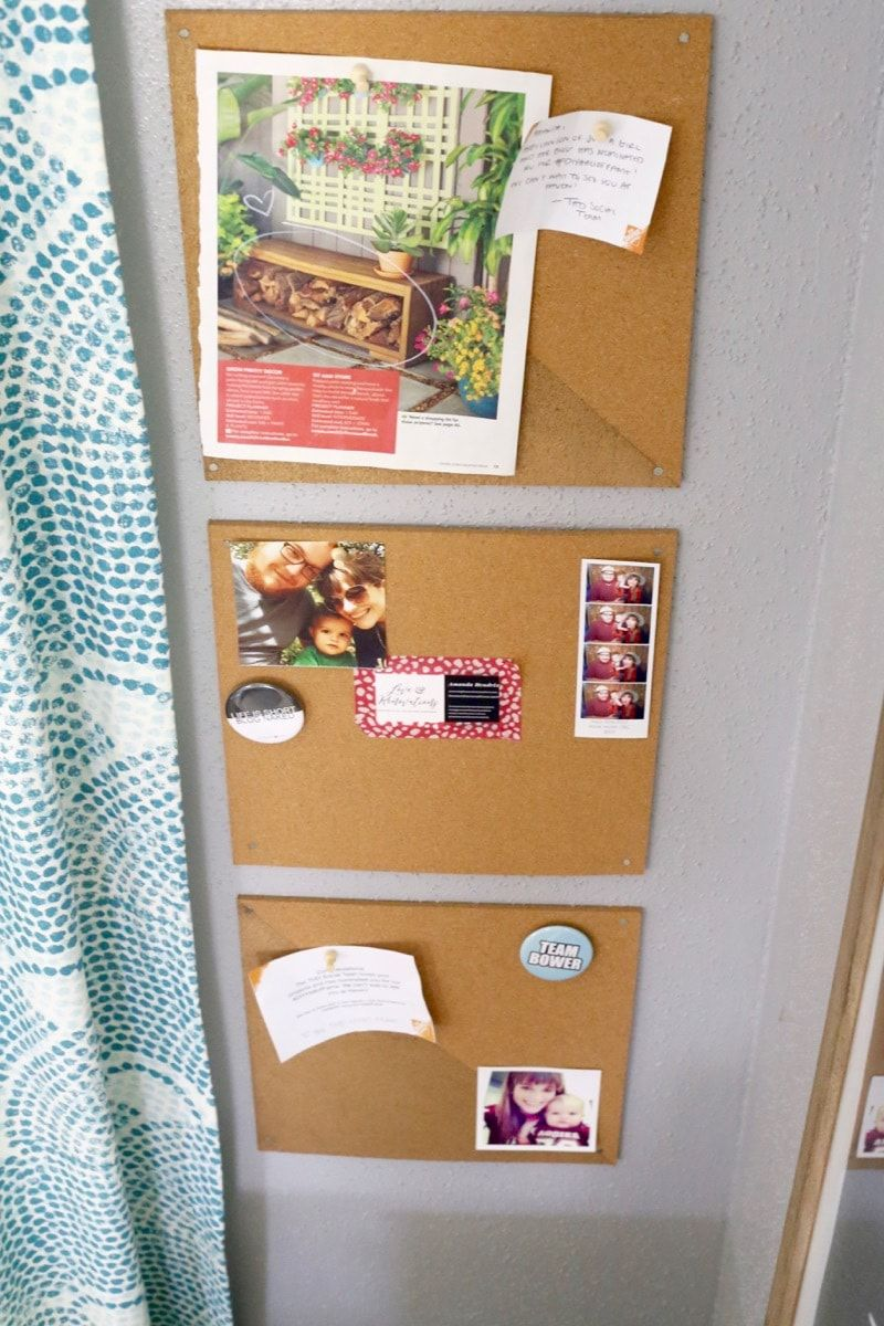this diy cork board is adorable and so easy to make learn on inspiring workspace with a cork wall creating a custom cork board for your home id=14140