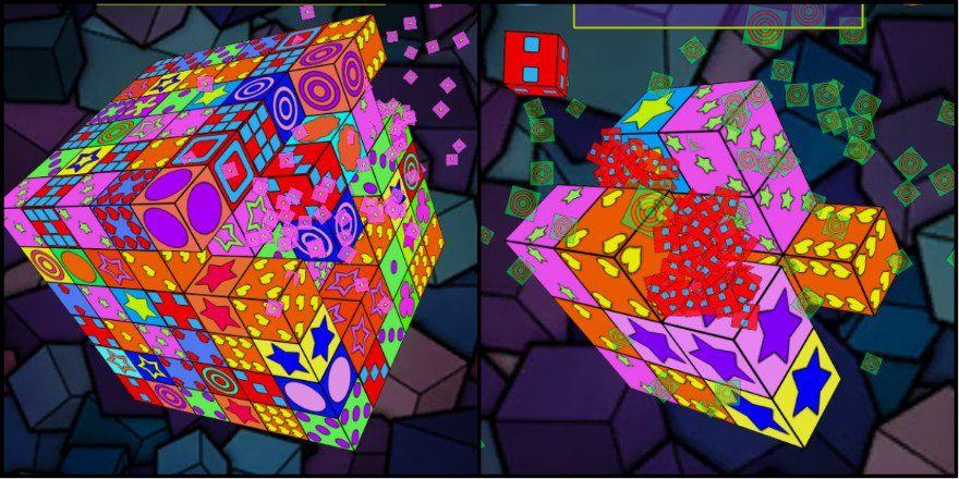 لعبة الألغاز الممتعة Cubeology على أجهزة أندرويد Novelty Lamp Paper Lamp Rubiks Cube