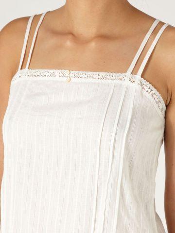 blusa branca de rendinha