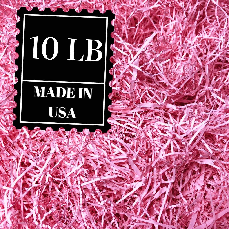 Shredded paper gift basket filler natural packing shreds