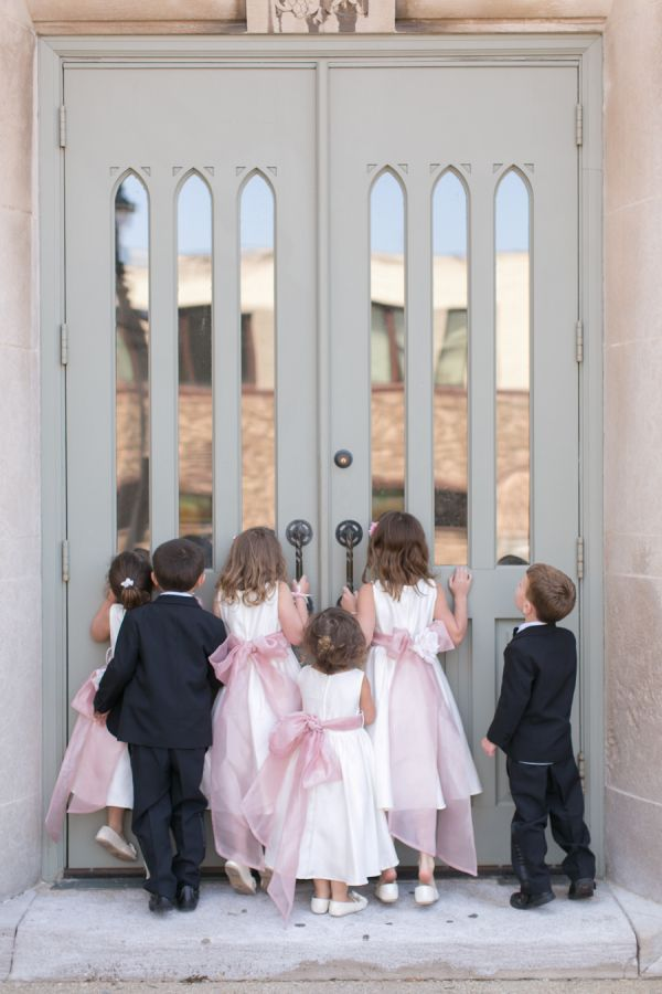 Flower Girls and Ring Bearers | Photography by Heather Cook Elliott