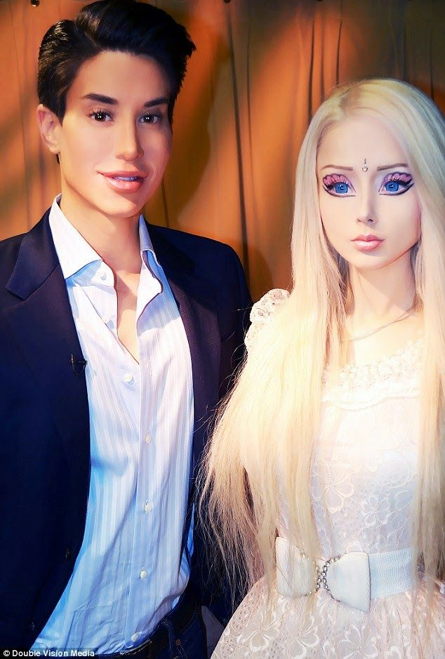 The Real Barbie And Ken