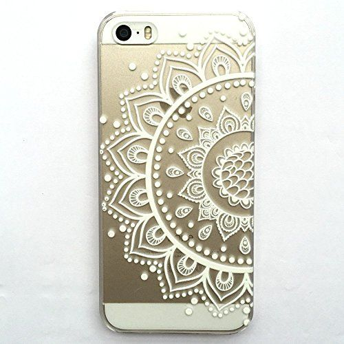 Mobile Henna Artist Los Angeles Ca: IPhone 6 Case, LUOLNH Henna Mandala Half Totem Flower Hard