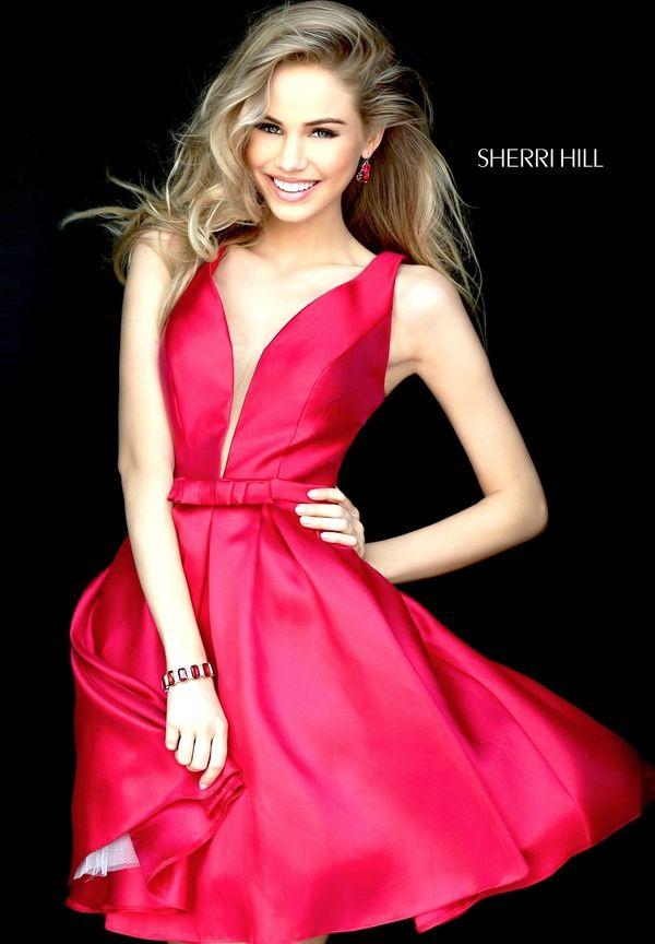 SHERRI HILL s50506. 2016 Homecoming DressesHoco DressesSatin DressesRed ...