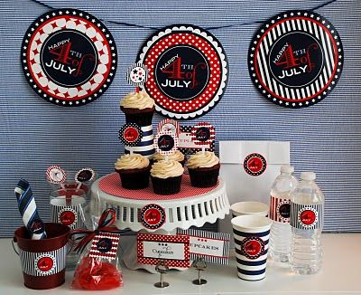 July 4th Entertaining By Sweet Design:  A Blog by Amy Atlas