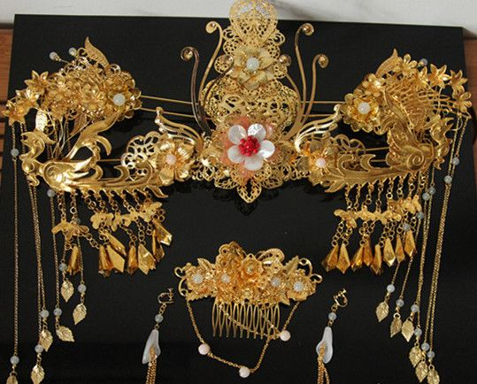 Chinese Traditional Bridal Accessories Bridal Headpieces