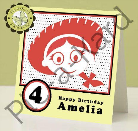Jessie Toy Story Birthday Card Birthday Card Ideas Pinterest