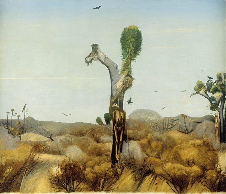 Francisco Goitia(1882- 1960) ~ Zacatecas, Paisaje de los ahorcados (landscape with hanged men) 1914