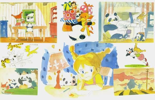 宮崎駿による「長靴下のピッピ」未発表原画が公開   BLOUIN ARTINFO