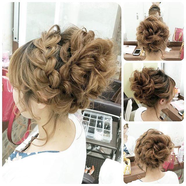 #ヘアアレンジ #ヘアセット #ヘアスタイル #ヘアメイク #hair#hairstyle #hairarrange #あみこみ #編み込み#編み込みアレンジ #結婚式#結婚式ヘアアレンジ #ブライダル#ブライダルヘア #ウェディング