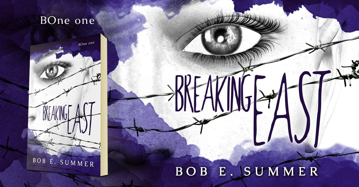 Breaking East by Bob E. Summer is available on Amazon. Breaking East is the first book in the BOne Trilogy. #beetiful #youngadult #bookcover #design #dystopian