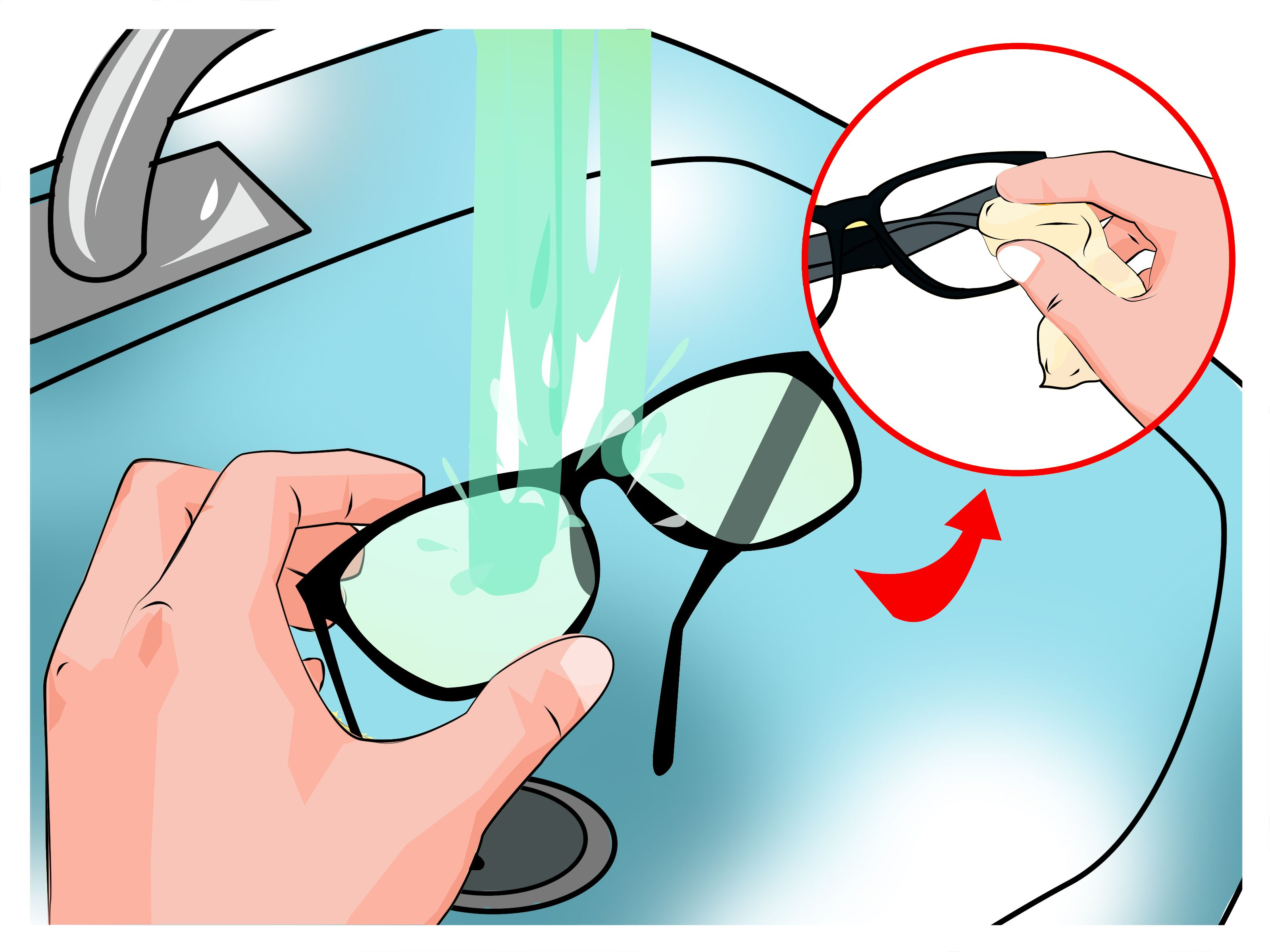 Remove Scratches From Plastic Lens Glasses Lenses Glass and