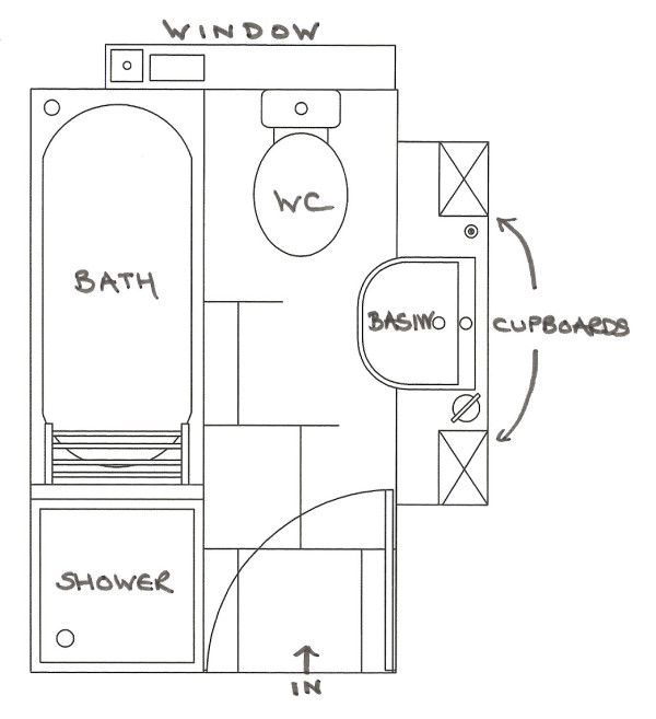 Others Marvelous Small Bathroom Floor Plans Bath And Shower With Undermount Bathtub Small Bathroom Floor Plans Bathroom Design Plans Small Bathroom Dimensions