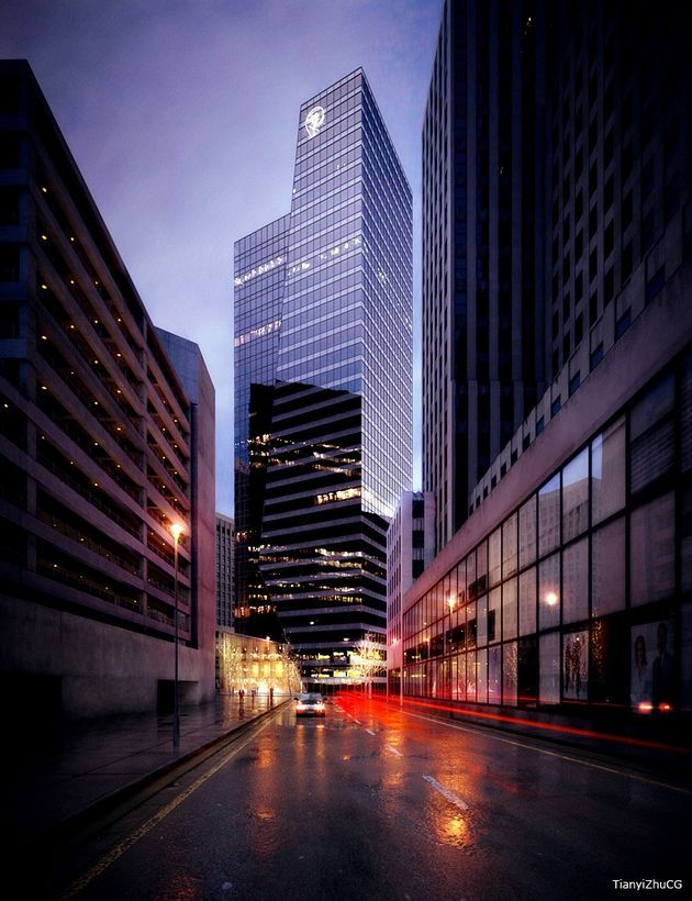 CGarchitect - Professional 3D Architectural Visualization User Community | Inspiration - Skyscrapers Vol. 1