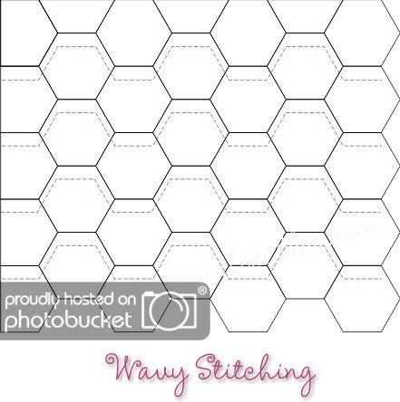 Texas Freckles: Hexagons Thoughts :: Week Four :: Quilting
