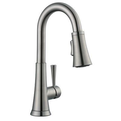 Glacier Bay 925 Series Bar Faucet In Brushed Nickel 67156 1004