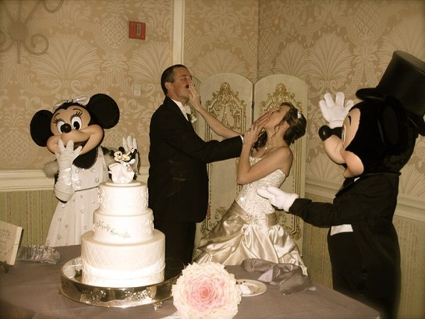 Smash wedding cake