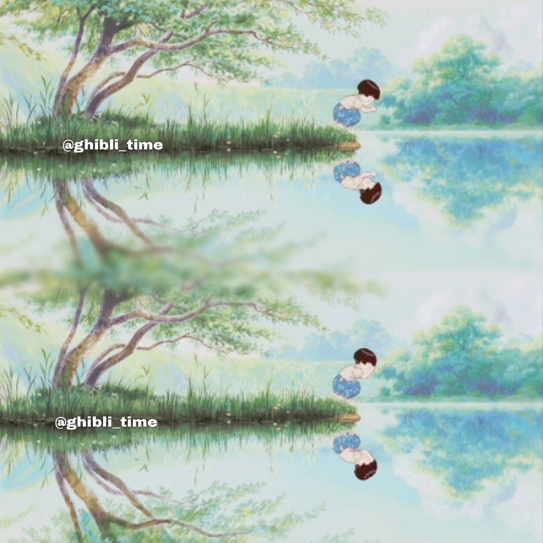 Hello #QOTD Favourite Vocaloid?  #AOTD Miku and Rin  Follow this page please @worldofdeathnote #unatombaperlelucciole #graveforfireflies #hayaomiyazaki #isaotakahata #hayaomiyazakifilm #isaotakahatafilms #studioghibi Umi by ghibli_time